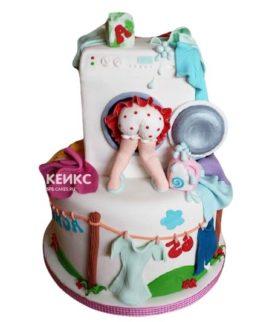 Торт стиральная машина