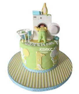 Торт стиральная машина-3