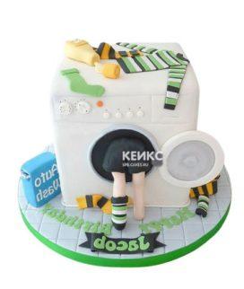 Торт стиральная машина-4
