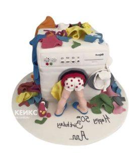 Торт стиральная машина-8