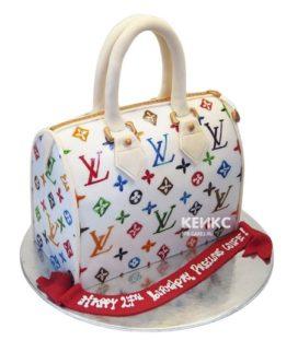 Торт сумка луи виттон-10