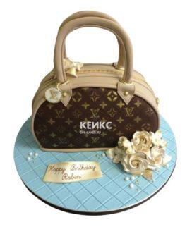 Торт сумка луи виттон-12
