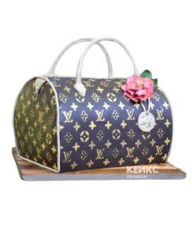 Торт сумка луи виттон-4