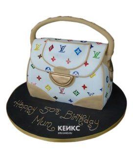 Торт сумка луи виттон-7