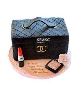 Торт сумка шанель-2