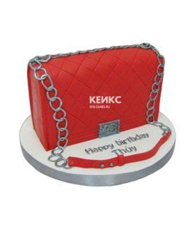 Торт сумка шанель-8