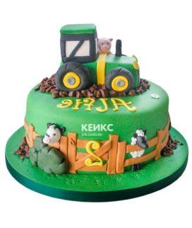 Торт трактор-10