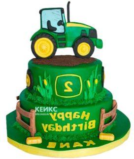 Торт трактор-11
