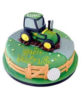 Торт трактор-12