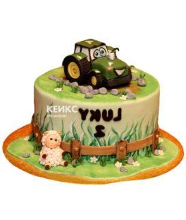 Торт трактор-13