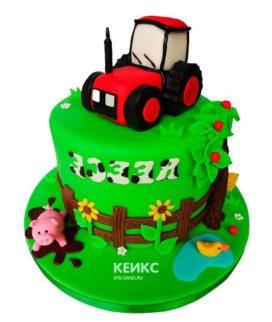Торт трактор-14