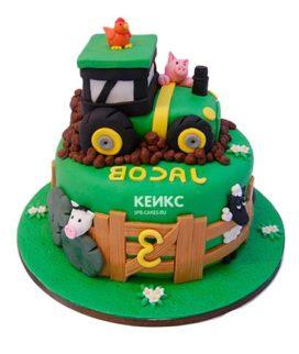 Торт трактор-3