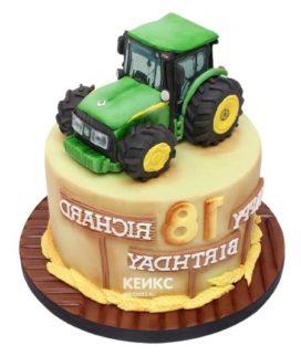 Торт трактор-4