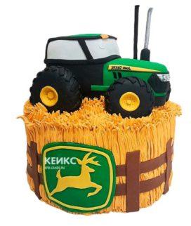 Торт трактор-8