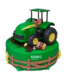 Торт трактор-9