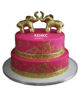 Торт в индийском стиле-11