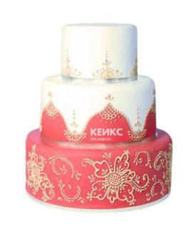 Торт в индийском стиле