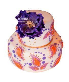 Торт в индийском стиле-3