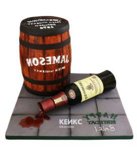 Торт виски 3