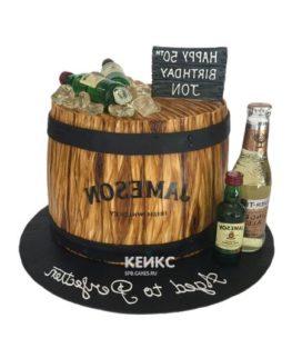 Торт виски 4