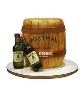 Торт виски 8