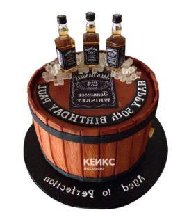 Торт виски джек дениелс 1