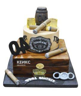 Торт виски джек дениелс 10