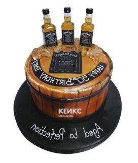Торт виски джек дениелс 11