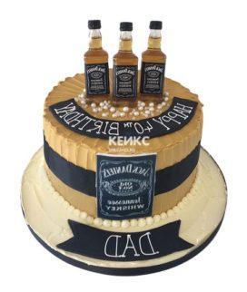 Торт виски джек дениелс 12