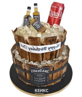 Торт виски джек дениелс 13
