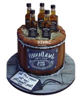 Торт виски джек дениелс 14