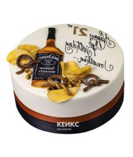 Торт виски джек дениелс