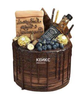 Торт виски джек дениелс 4