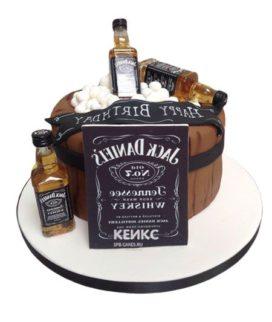Торт виски джек дениелс 6