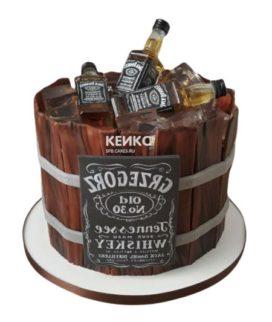 Торт виски джек дениелс 7