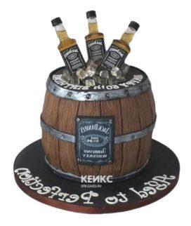 Торт виски джек дениелс 9