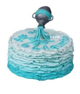 Торт водолей