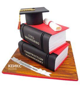 Торт закрытая книга 10