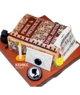 Торт закрытая книга 11