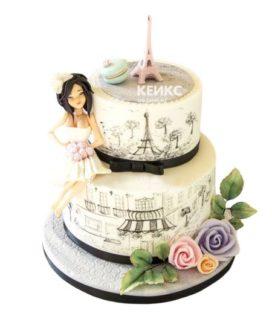 Торт женщине на 26 лет 5
