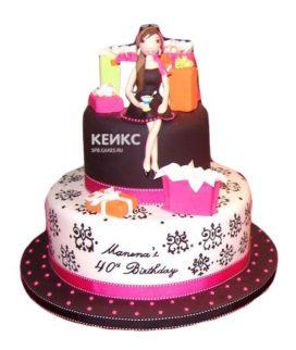 Торт женщине на 27 лет 1