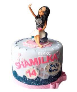 Торт женщине на 27 лет