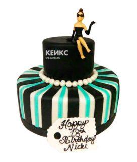 Торт женщине на 28 лет 1