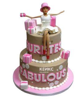 Торт женщине на 29 лет 3