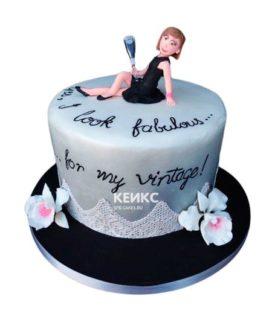 Торт женщине на 33 года