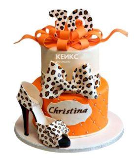 Торт женщине на 33 года 4