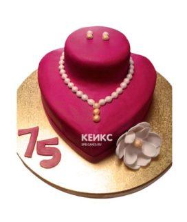 Торт женщине на 34 года 1