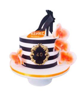 Торт женщине на 34 года 4