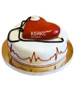 Торт для кардиолога 9