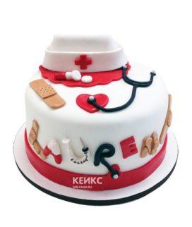 Торт для медсестры 6